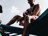 Lewis Hamilton : Vacances à la Barbade, avec la divine Chanel Iman