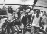 Justin Bieber en vacances avec la bombe Sahara Ray, après une belle frayeur