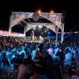 """Atmosphère - Soirée """"La Fight Night"""" de Saint-Tropez, France, le 4 août 2016. La Fight Night est un concept original alliant les plus hautes valeurs des sports de combats internationaux au glamour de Saint-Tropez. Certains des plus grands noms de la boxe thaï et du kick-boxing mondiaux se sont affrontés sur ce ring faisant désormais partie de la légende de la boxe sous toutes ses formes. Cette prestigieuse soirée de gala au clair de lune est devenue au cours du temps LA marque d'un succès sportif et people retentissant. Un événement incontournable dans le village le plus célèbre de la Côte d'Azur. © Rachid Bellak/Bestimage"""