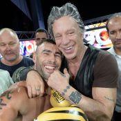 Mickey Rourke : Combat de boxe VIP face à Vincent Lagaf' et Bernard Montiel