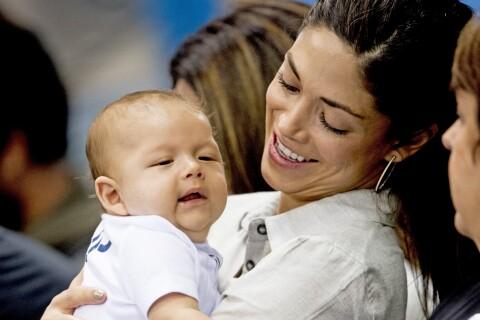 Michael Phelps aux JO de Rio: Son bébé de 3 mois, Boomer, assiste à ses exploits