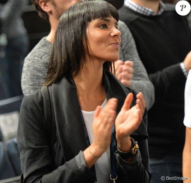 Shy'm (Tamara Marthe) - La chanteuse Shy'm (Tamara Marthe) encourage son petit-ami Benoît Paire lors du tournoi BNP Paribas Masters à l'Accor Hotels Arena à Paris le 3 novembre 2015. Malgré les encouragements de sa dulcinée, Benoît Paire à été éliminé par Gilles Simon au 2e tour du BNP Paribas Masters (6-4, 4-6, 6-1). © Veeren / Bestimage