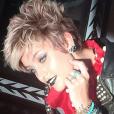 Paris Jackson très rock'n'roll pour un nouveau shooting photo. Photo publiée sur Instagram en août 2016