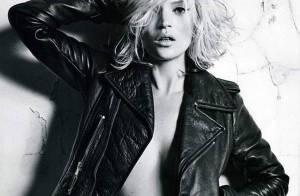PHOTOS : La sublime Kate Moss, nue sous son perfecto !