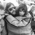 Ringo Starr et sa première femme Maureen (née Cox) au Grand Prix de F1 de Monaco en mai 1971