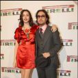 Sean Lennon et Charlotte Kemp à la soirée Pirelli