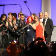Alice Cooper et Johnny Depp lors du 16e Starkey Hearing Foundation Gala à St. Paul, le 17 juillet 2016.