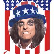 """Alice Cooper candidat """"perturbé"""" à la présidence des États-Unis !"""