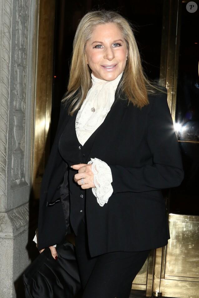 Barbra Streisand à New York, le 12 juin 2016