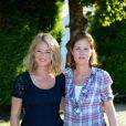 Virginie Efira et Justine Triet - Deuxième jour du 9ème Festival du Film Francophone d'Angoulême. Le 24 août 2016
