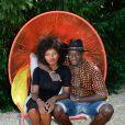 Inna Modja et Ibrahim Koma - Photocall lors du 3ème jour du 9ème Festival du Film Francophone d'Angoulême. Le 25 août 2016 © Coadic Guirec / Bestimage