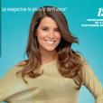"""Karine Ferri en couverture du """"Télé 7 Jours"""", en kiosques le 29 août 2016."""