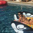 Kourtney Kardashian a publié une photo d'elle torride en bikini, sur sa page Instagram au mois d'août 2016