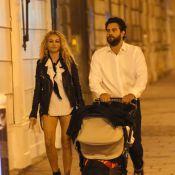 Paulina Rubio, son chéri et leur bébé Eros : Touristes amoureux à Paris
