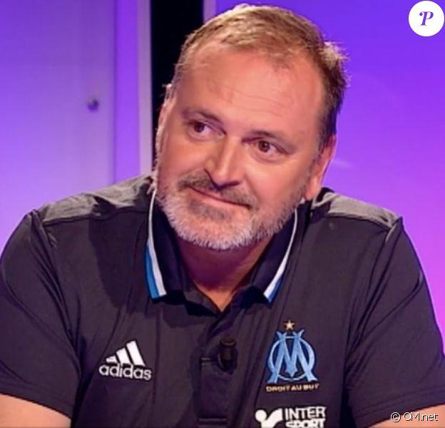Gunter Jacob, le nouveau directeur sportif de l'OM (ici dans le premier numéro de la saison 2016-17 de 18H CFoot sur OMtv et OMtv online), a été victime d'un cambriolage dans sa villa du 11e arrondissement de Marseille, pendant son sommeil, dans la nuit du jeudi 11 au vendredi 12 août 2016.