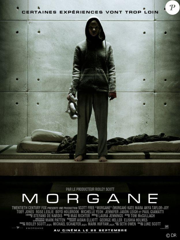 Affiche du film Morgane en salles le 28 septembre 2016