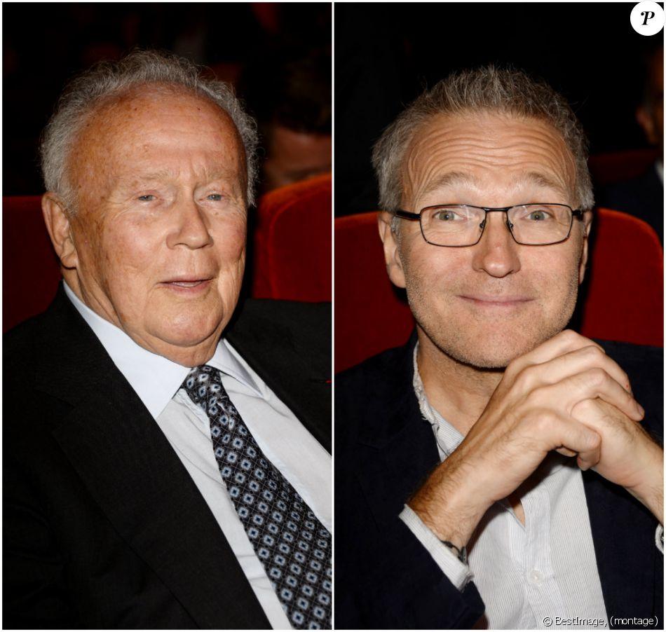 Philippe Bouvard et Laurent Ruquier - Conférence de presse de rentrée du groupe RTL à Paris le 7 septembre 2016. © Coadic Guirec / Bestimage
