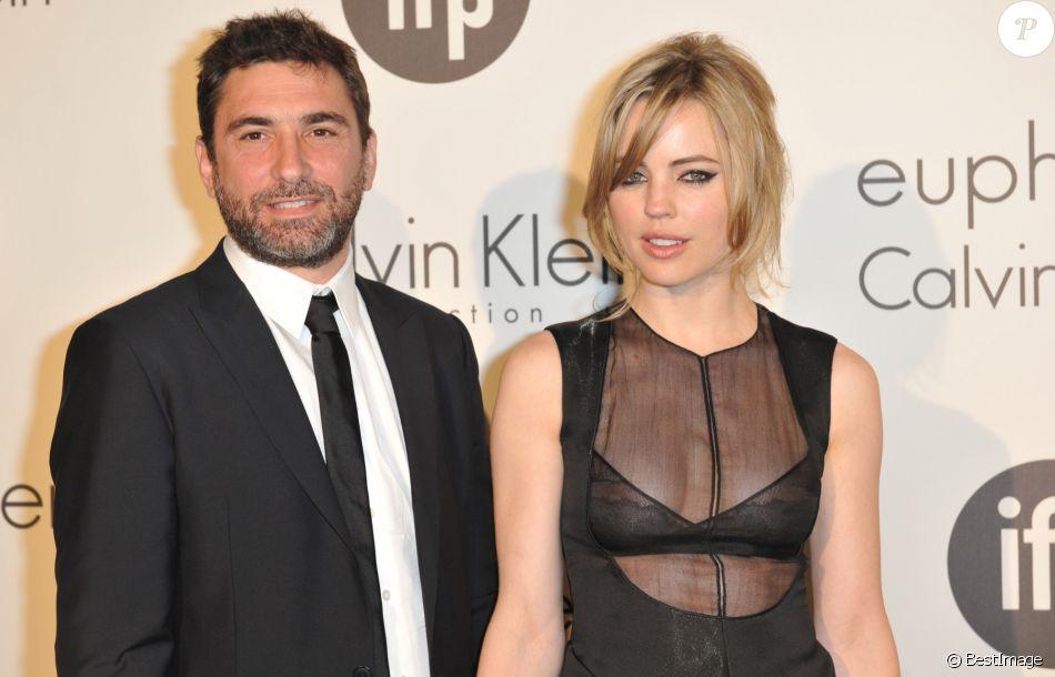 Info - 7 septembre 2016 - L'actrice australienne Melissa George hospitalisée à l'hôpital Cochin : elle accuse son mari Jean-David Blanc de violences conjugales.   Le couple à Cannes, en mai 2012.
