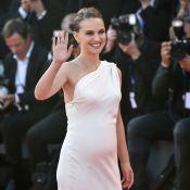Natalie Portman enceinte : Tout en rondeurs à Venise, elle révèle sa grossesse