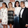 Natalie Portman, enceinte, Lily-Rose Depp, Rebecca Zlotowski et Emmanuel Salinger présentaient le 10 septembre 2016 Planetarium au Festival international du film de Toronto (TIFF).