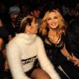 Madonna et sa fille Lourdes Leon au défilé Alexander Wang à New York. Le 10 septembre 2016.