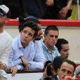 Felipe Froilàn de Marichalar, fils de l'infante Elena d'Espagne, assistant le 30 juillet 2016 à une corrida au cours de laquelle son ami le torero Gonzalo Caballero a été attrapé par le taureau.