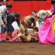 Felipe Froilàn de Marichalar, fils de l'infante Elena d'Espagne, assistait le 30 juillet 2016 à une corrida au cours de laquelle son ami le torero Gonzalo Caballero a été attrapé par le taureau (photo).