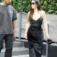 Kanye West et Kim Kardashian quittent leur appartement Airbnb à New York, le 14 septembre 2016.