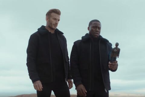 David Beckham : Styliste pour l'automne, inséparable de Kevin Hart