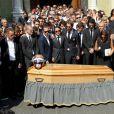 Obsèques de Jules Bianchi en la cathédrale Sainte-Réparate à Nice, le 21 juillet 2015.