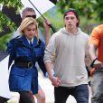 Chloe Grace Moretz et Brooklyn Beckham lors d'un shooting photo à New York le 29 juin 2016