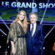 """Exclusif - Céline Dion et Michel Drucker - Enregistrement de l'émission """"Le Grand Show Céline Dion"""" sur France 2. Le 15 juin 2016 © Dominique Jacovides / Bestimage"""