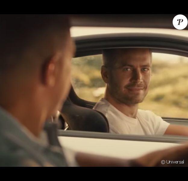 Paul Walker dans l'ultime scène de Fast & Furious 7.