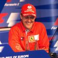Ralf et Michael Schumacher lors du Grand Prix d'Europe 2001