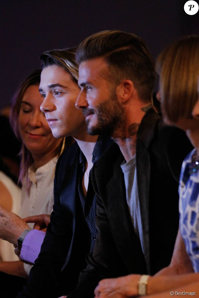 Brooklyn Beckham, Davi... 2017 David Beckham Divorce