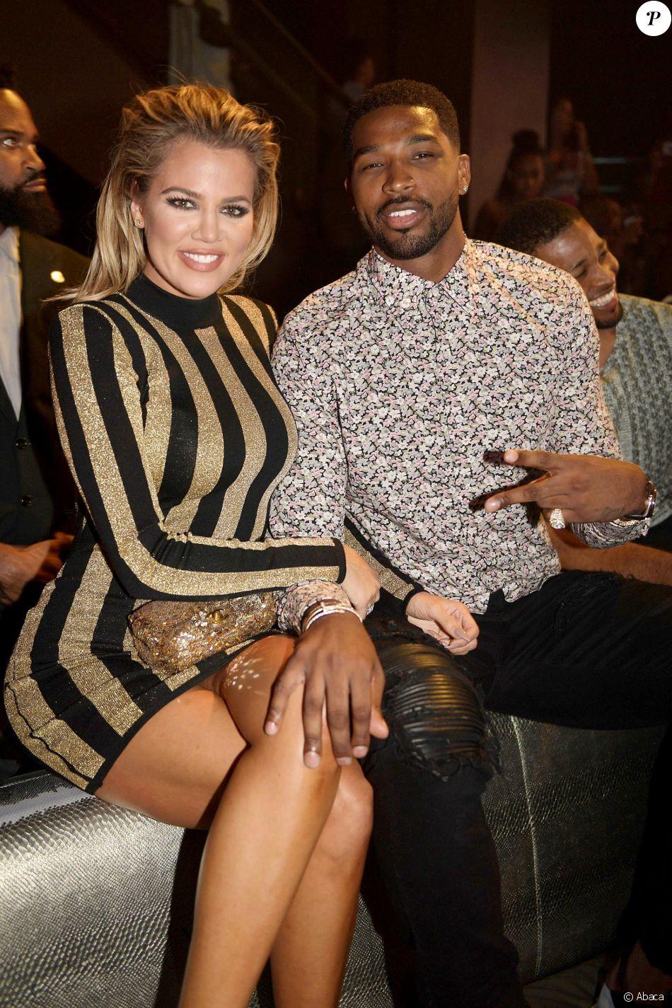 Khloe Kardashian et Tristan Thompson au club LIV de Fontainebleau, à Miami, le 19 septembre 2016
