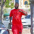 Exclusive - Jayceon Terrell Taylor alias The Game dans les rues de Calabasas, Los Angeles, le 26 mai 2014