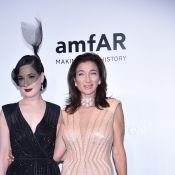 Adriana Lima, Dita Von Teese : les stars solidaires pour l'AmfAR à Milan
