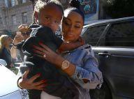 Blac Chyna enceinte : De sortie avec son fils, elle dévoile son ventre très rond