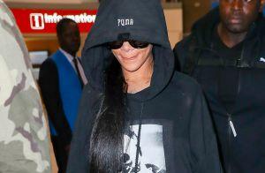 Rihanna à Paris : Arrivée discrète avant son défilé grandiose !