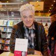 Daniel Lavoie - 35ème salon du livre au parc des Expositions à la Porte de Versailles à Paris, le 20 mars 2015.