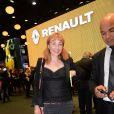 Julie Depardieu - Présentation du Renault Trezor concept car électrique pendant la 119ème édition du Mondial de l'Automobile 2016 au Paris Expo Porte de Versailles à Paris, France, le 29 septembre 2016. © Rachid Bellak/Bestimage