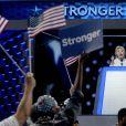 Hillary Clinton durant le 4 ème jour de la Convention Démocrate à Philadelphie, le 28 juillet 2016