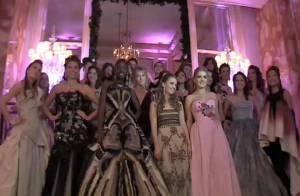 VIDEO ET INTERVIEWS EXCLUSIFS : Découvrez Alain Delon et Bruce Willis faisant danser leurs débutantes de filles ! Regardez !