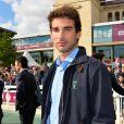 Astier Nicolas au 95ème Qatar Prix de l'Arc de Triomphe à l'Hippodrome de Chantilly le 2 octobre 2016.