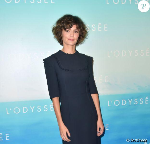 """Audrey Tautou - Avant-première du film """"L'Odyssée"""" au cinéma UGC Normandie à Paris, le 3 octobre 2016. © Giancarlo Gorassini/Bestimage"""