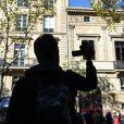 Illustration de l'appartement de Kim Kardashian à Paris, où a eu lieu son agression. Le 3 octobre 2016