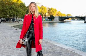 Fashion Week : Ilona Smet, modeuse radieuse au défilé Paul & Joe
