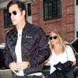 Jennifer Aniston et son mari Justin Theroux se baladent dans les rues de New York, le 28 septembre 2016