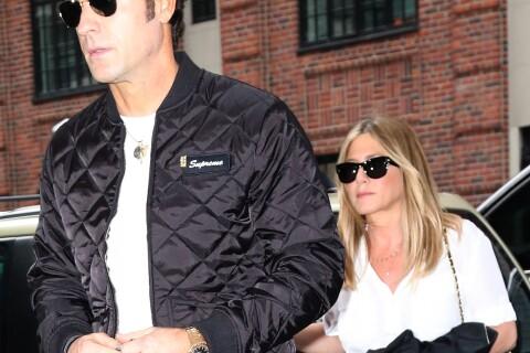 """Justin Theroux, sa femme Jennifer Aniston : """"Une dure à cuire, je suis fier"""""""
